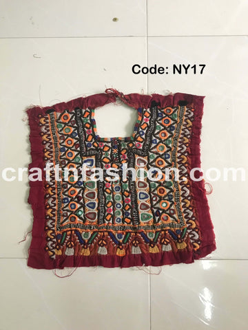 Gujarati Gamthi Embroidered Neck Patch