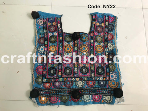 Ethnic Tribal Navratri Dress Patch