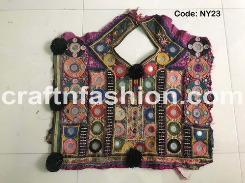 Kutch Hand Embroidery Neck Patch