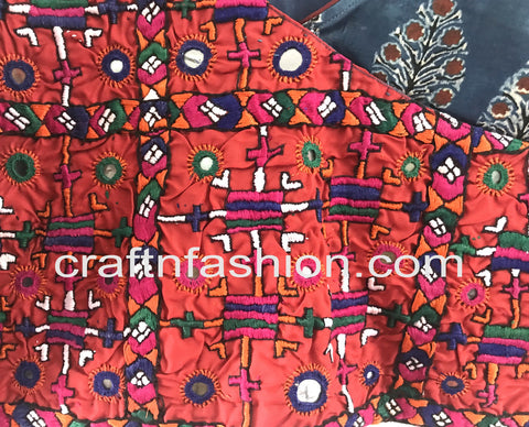 Diwali Special Designer Hand Embroidered Blouse