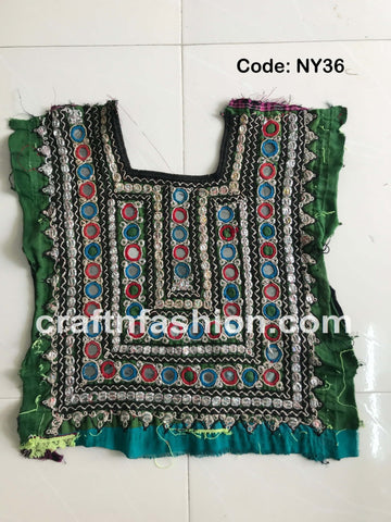Sindh Embroidery Banjara Neck Yoke