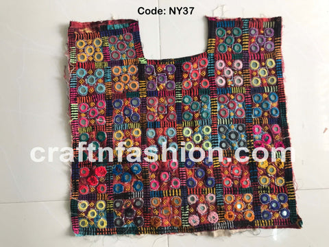 Tribal Dance Costume Neck Patch