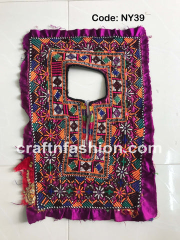 Kutch Tribal Banjara Boho Neck Yoke