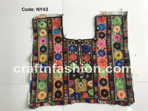 Traditional Mirror Work Banjara Patch