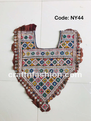 Vintage Kutch Handcraft Neck Yoke