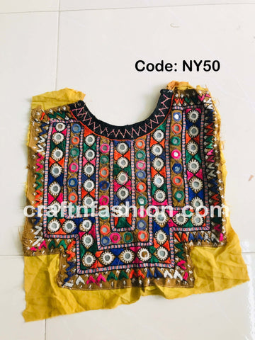 Antique Kutch Embroidered Neck Yoke