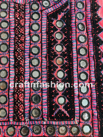 Vintage Rabari Work Neck Patch