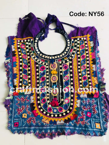 Banjara Dress Patch - Kutch Neck Yoke