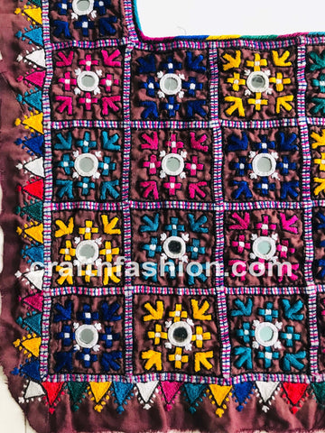Traditional Kutch Dandiya Dance Costume Patch