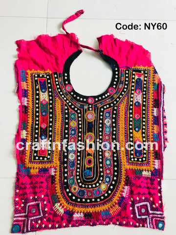 Boho Gypsy Tribal Neck Patch