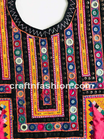 Neck Yoke For Sindh Dress - Afghan Dress