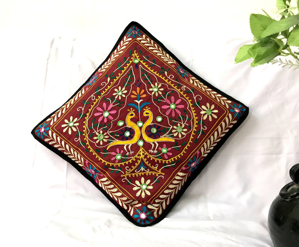 Home Decor Multicolored Designer Pillow Case