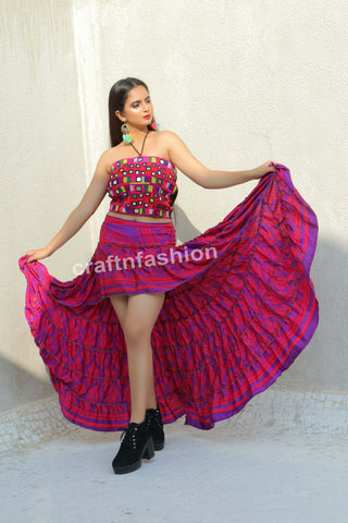 Spanish Dance Costume Ibiza Skirt