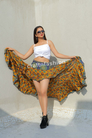 American Style Tribal Dance Wear Skirt