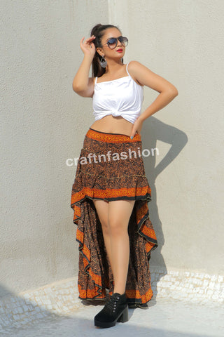 Hollywood Style Indo Western Skirt