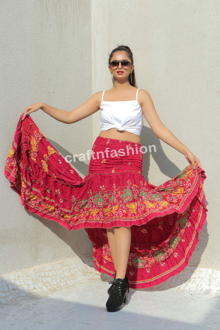 Tribal Dance Costume Ibiza Skirt