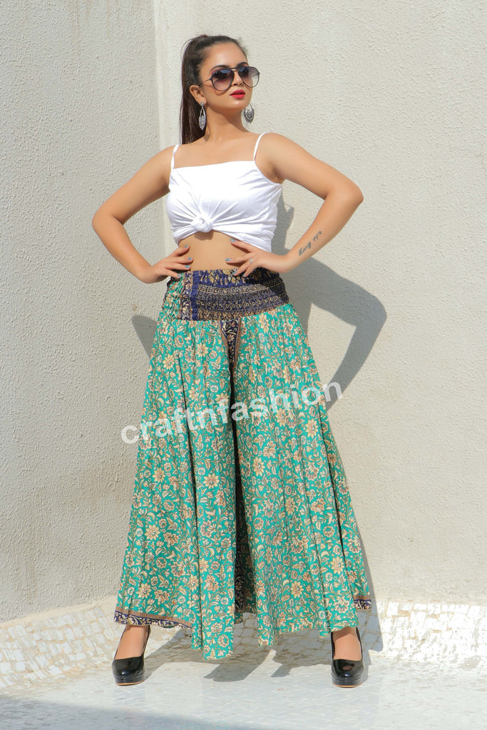 Wide Bottom Trouser -Belly Dance Wear Palazzo