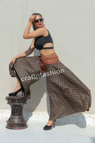 Belly Dance Costume-Boho Gypsy Trouser