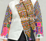 Designer Kutch Patch Work Jacket