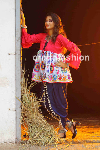 Kedia Jacket With Princess Cut Dhoti