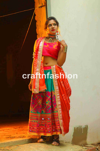 Dandiya Dance costume -Chaniya Choli