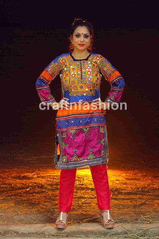 Traditional Rajasthan Dress With Pant