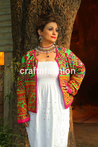 Dandiya Dance Wear Women Jacket