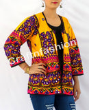 Gujarati Handmade Embroidered Mirror Work  jacket