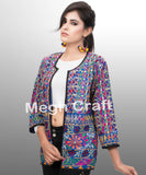 Bohemian Patchwork Embroidered  Jacket
