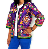 Kutch Mirror Work Embroidered Jacket
