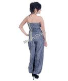 Hand Painted Designer jumpsuit