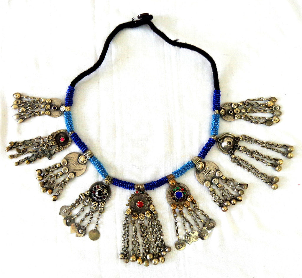 Afghani Silver Plated Necklace