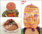 Traditional Vintage Kutch Style Cap With Blouse