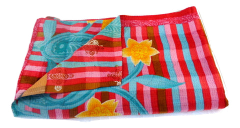 Vintage Home Decor Kantha Bedspread