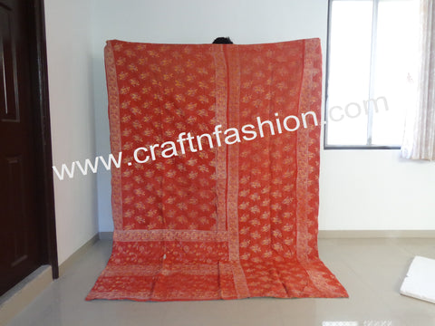 Beautiful Reversible Vintage Kantha Quilts