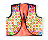 Indian Fusion Embroidery Jacket-Koti
