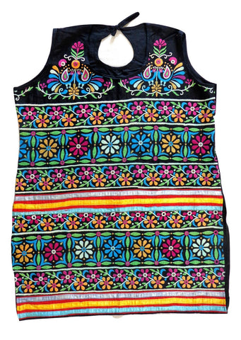 Kutch floral Embroidered  Tunic - Kurti