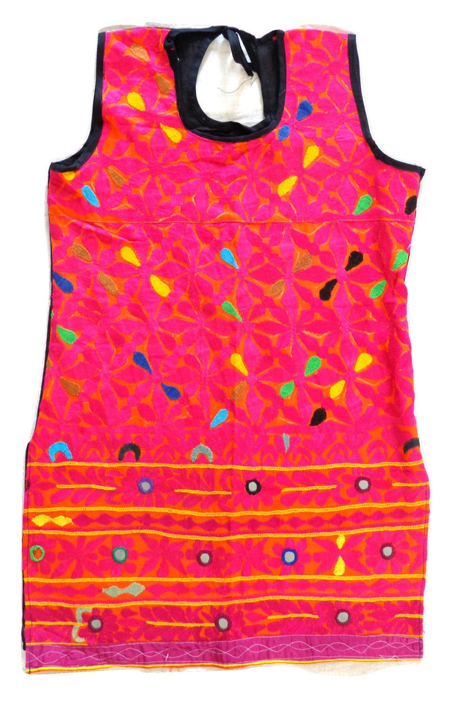 Indian Handmade kutch Embroidered Tunic - Kurti