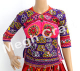 Tribal Kutchi Embroidered Mirror Work Blouse