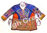 Indian Embroidery Mirror work Blouse top