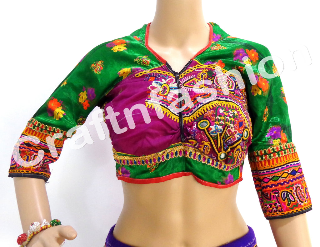 Hand Embroidered Kutchi Blouse