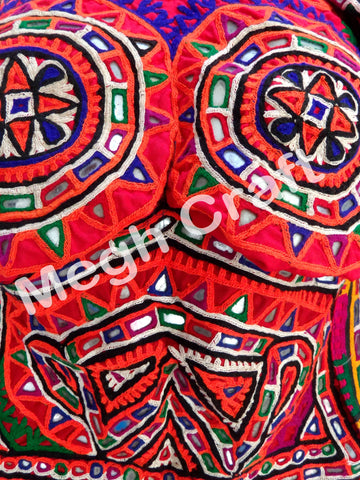 Kutch Mirror Work Blouse Top