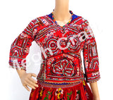 Kutch Mirror work Rabari Blouse Top