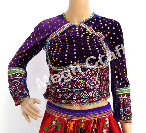 Banjara Hand Embroidered Kutch Girl's Top