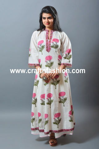 Summer Wear Bohemian Dress-Jaipuri Kurta & Palazzo