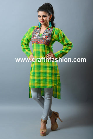 Traditional Summer Wear Cotton Kurti