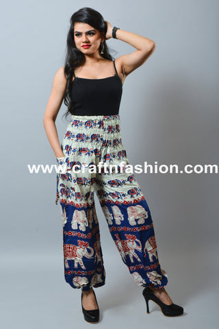 Cotton Boho Gypsy Men/Women Trouser