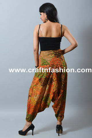 Bohemian Gypsy African Baggy Pant