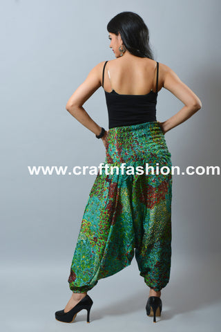 Bohemian Hippie High Waist Summer Trouser