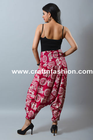2019 Summer Fashion Rayon Cotton Trouser